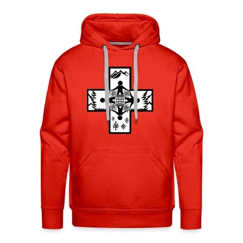 Hoodie CISV 2018 - Sweat-shirt à capuche Premium pour hommes