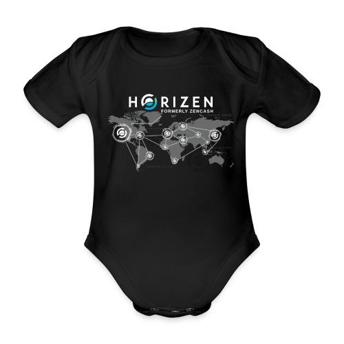 Horizen's world - Body bébé bio manches courtes