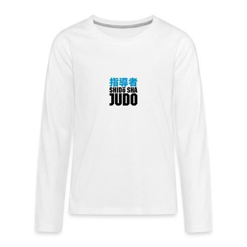 ShidōSha Longshirt - Teenager Premium Langarmshirt