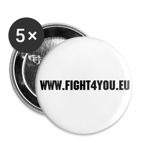 Plakette  - Buttons groß 56 mm