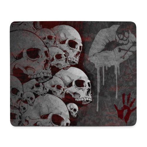 Dark Skull MousePad - Mousepad (Querformat)