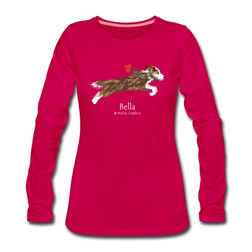 Bella custom design (print on front) - Women's Premium Longsleeve Shirt