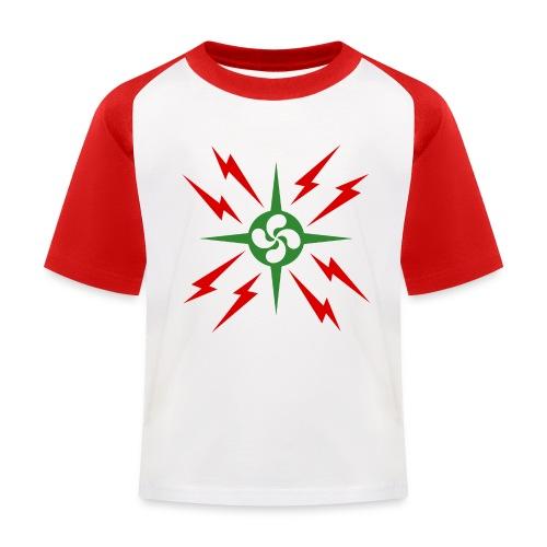 Croix du pays Basque - T-shirt baseball Enfant