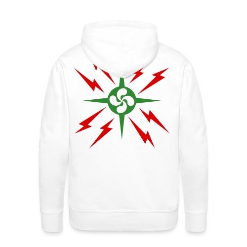 Croix du pays Basque - Sweat-shirt à capuche Premium pour hommes