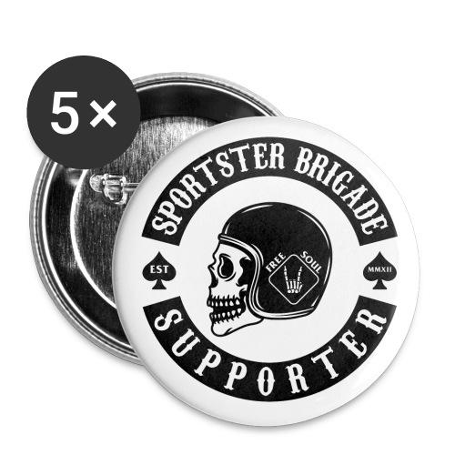 Sportster Brigade Pin - Buttons mittel 32 mm (5er Pack)