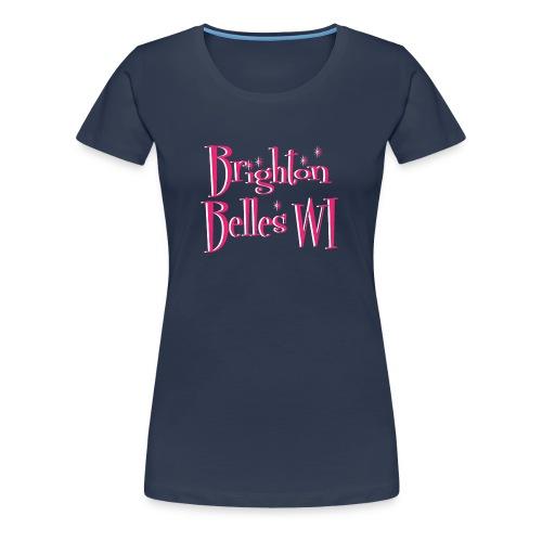 Brighton Belles Women's Premium T-Shirt in Navy - Women's Premium T-Shirt