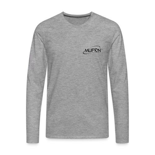 Mufon CES Langarm Shirt  - Männer Premium Langarmshirt