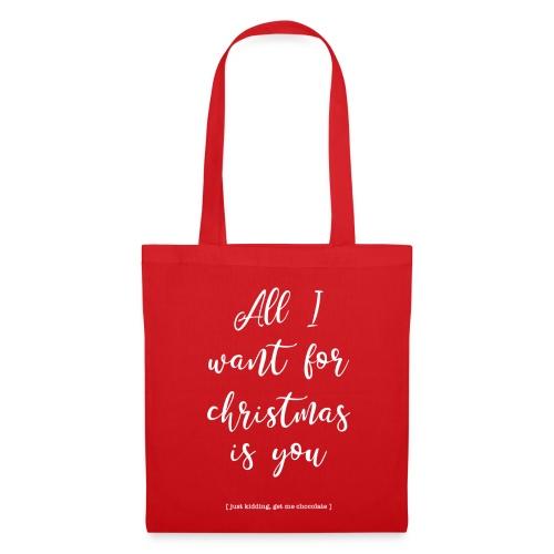 All I Want is Chocolate _ bag - Tas van stof