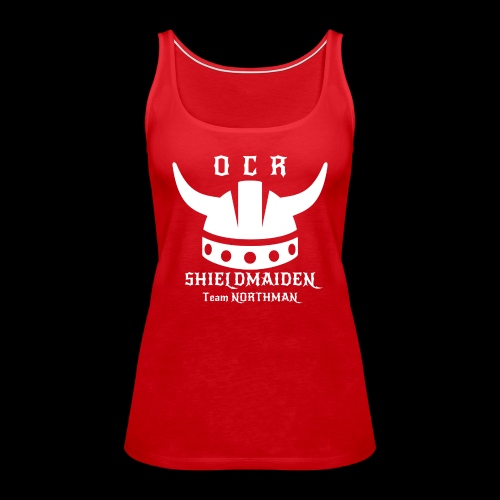 OCR Northman Top Shieldmaiden - Frauen Premium Tank Top