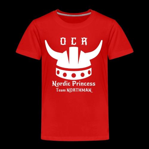 Mädchen Shirt Nordic Princess - Kinder Premium T-Shirt