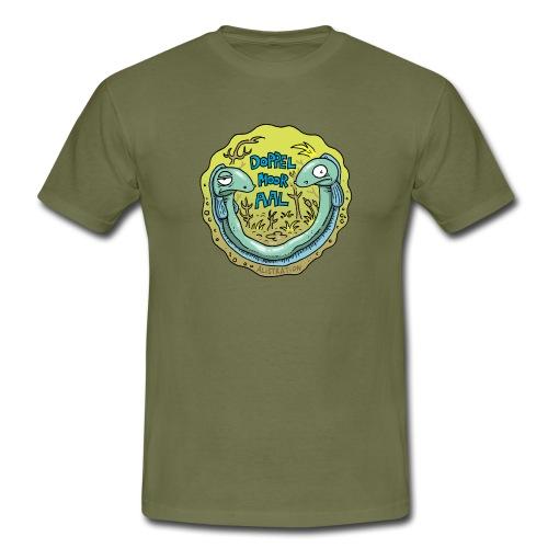 Doppelmooraal rund Männer - Männer T-Shirt