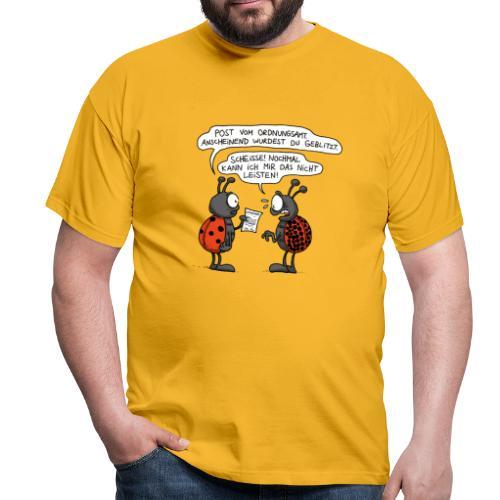 Marienkäfer Punkte Männer - Männer T-Shirt