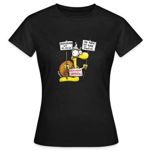 Verschwörungsschnecke Frauen - Frauen T-Shirt