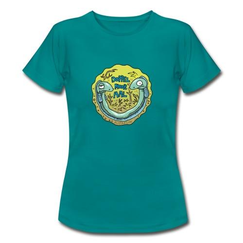 Doppelmooraal rund Frauen - Frauen T-Shirt