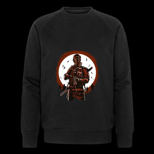Gasmakse - Männer Bio-Sweatshirt von Stanley & Stella