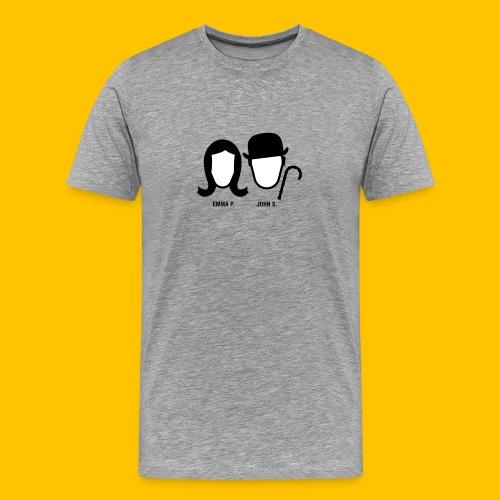 Chapeau Melon - 02-CS - T-shirt Premium Homme