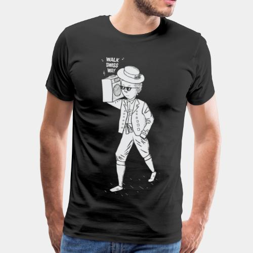 Walk Swiss Way - Männer Premium T-Shirt