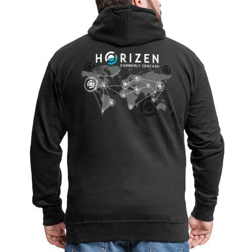 Horizen's world - Veste à capuche Premium Homme