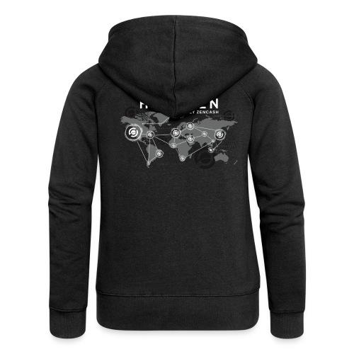 Horizen's world - Veste à capuche Premium Femme