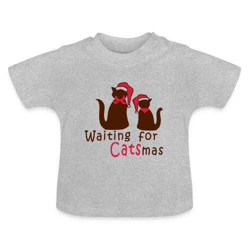 Weihnachtskatzen - Baby T-Shirt