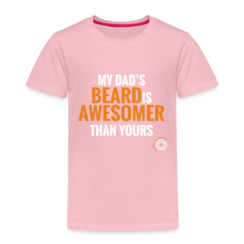 My dad's beard - Kinderen Premium T-shirt