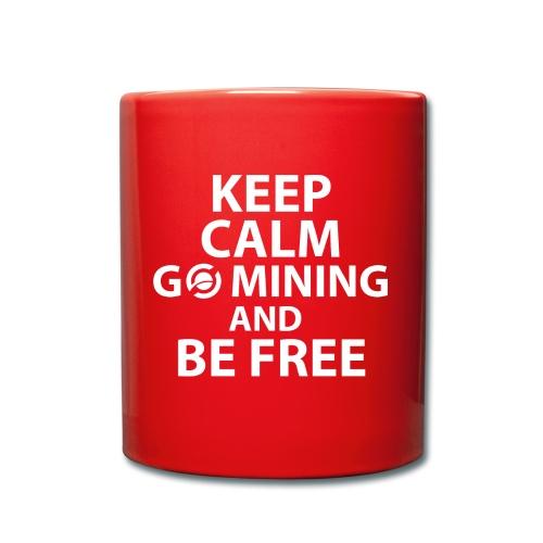 Keep Calm Go Mining - Full Colour Mug