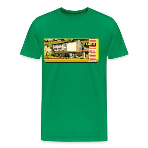 Hangweidehaus Nr.5 - Männer Premium T-Shirt