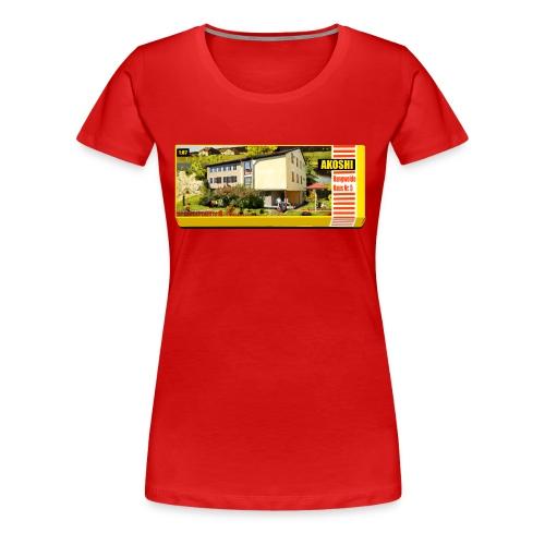Hangweidehaus Nr.5 - Frauen Premium T-Shirt