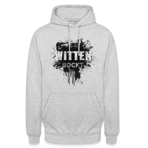 WITTEN ROCKT IN DIRTY BLACK - Unisex Hoodie