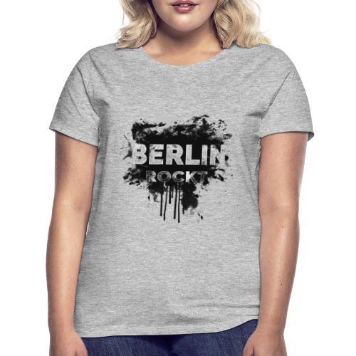 BERLIN ROCKT SPLÄTTER DESIGN - Frauen T-Shirt