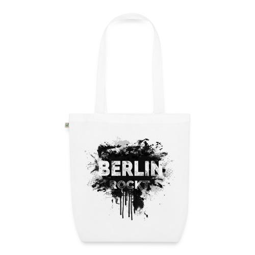 BERLIN ROCKT SPLÄTTER DESIGN - Bio-Stoffbeutel