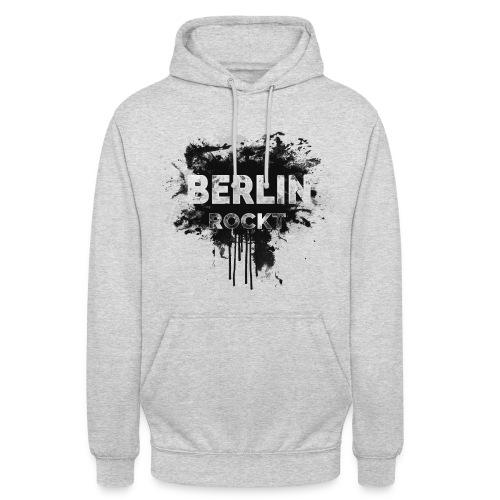 BERLIN ROCKT SPLÄTTER DESIGN - Unisex Hoodie