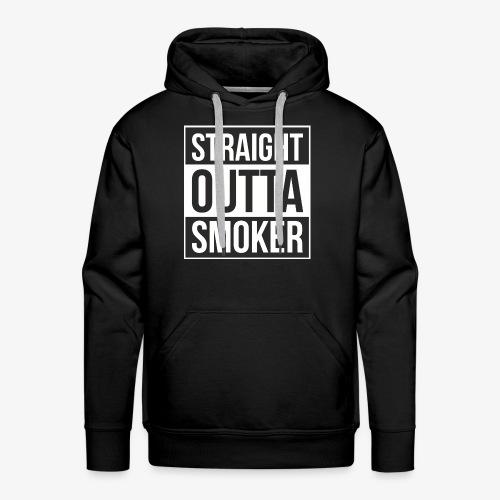 Straight Outta Smoker - Hoodie - Männer Premium Hoodie