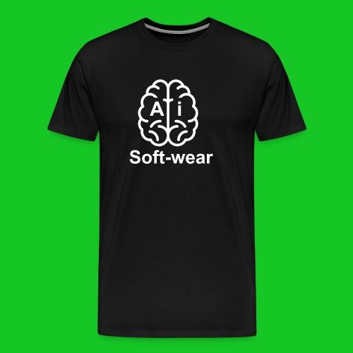 A.I. soft-wear heren t-shirt - Mannen Premium T-shirt