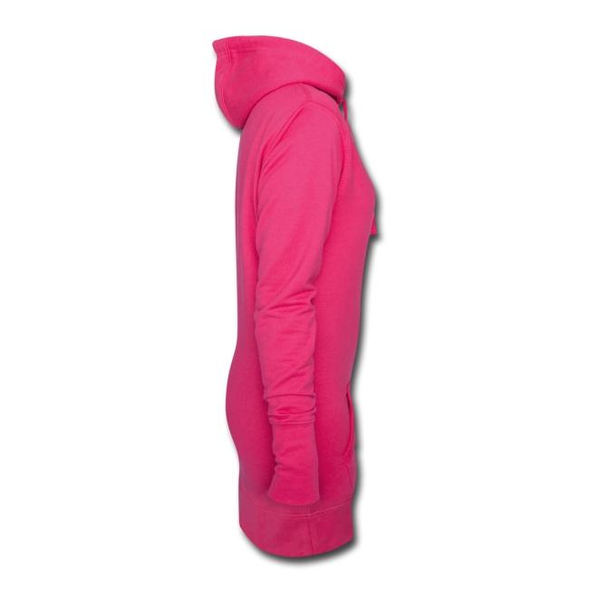Women Hoodie-Dress - Pink