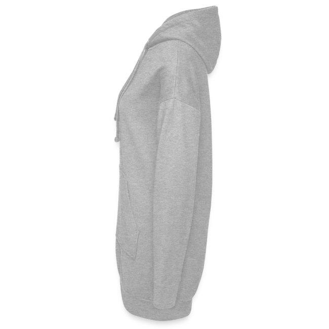 Women Hoodie-Dress - White