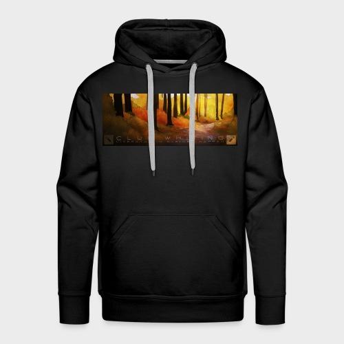Herbstwald | Herren Premium Hoodie (Schwarz) - Männer Premium Hoodie