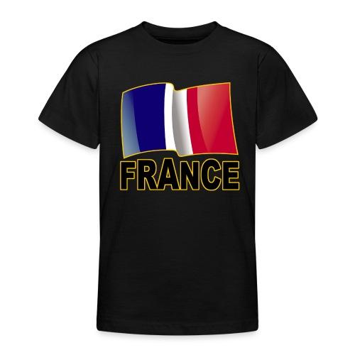 France - T-shirt Ado