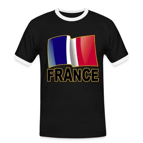 France - T-shirt contrasté Homme