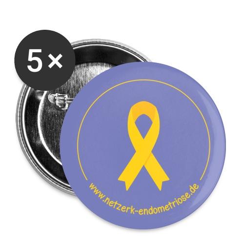 LOGO - Netzwerk Endometriose, Buttons - Buttons mittel 32 mm
