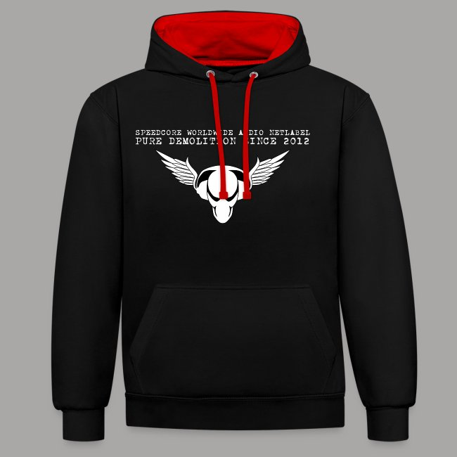 SCWW Family Contrast Hoodie (Front & Back Print)