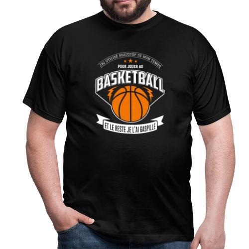 Jouer au basketball - T-shirt Homme