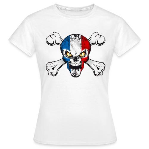 France skull - T-shirt Femme