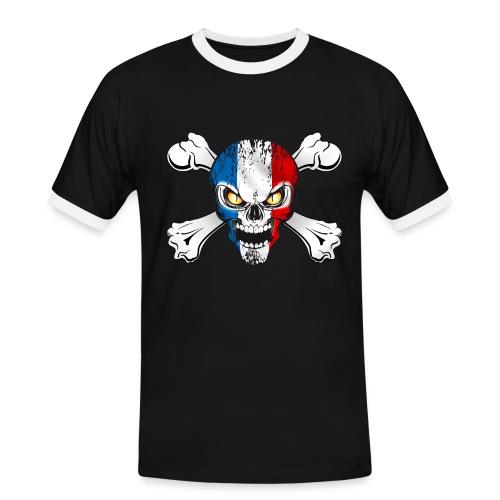 France skull - T-shirt contrasté Homme
