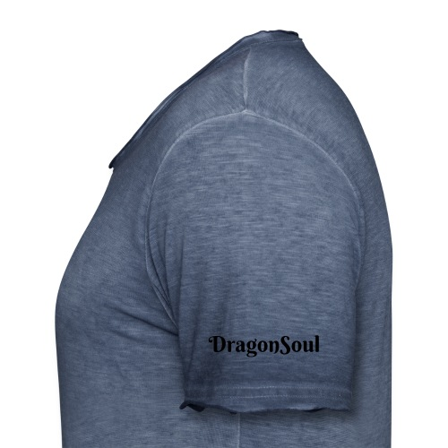 Om DragonSoul Tee - Men's T-Shirt with colour gradients