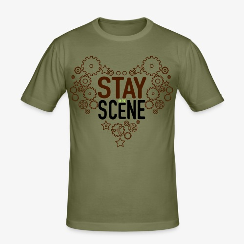 Stay on the Scene - Daniel, special edition - Slim Fit T-shirt herr