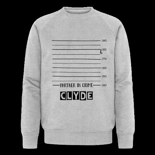Partner Pullover - CLYDE - Bonnie & Clyde - Partnerlook - Männer Bio-Sweatshirt von Stanley & Stella