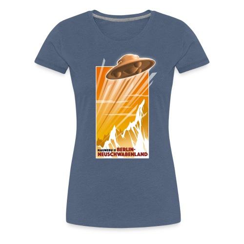 Haunebu II Orange Damen - Frauen Premium T-Shirt