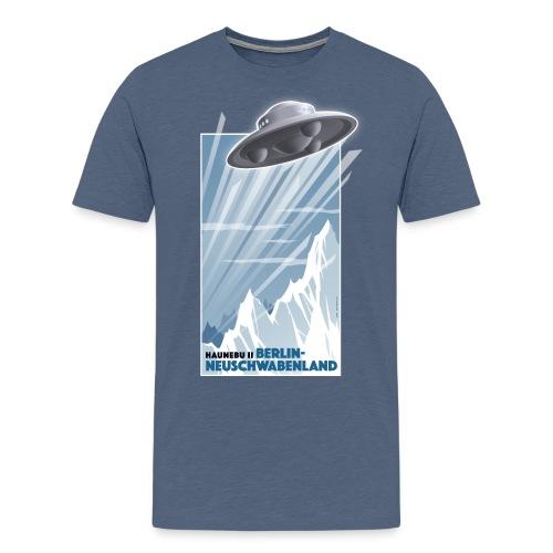Haunebu II blau Herren - Männer Premium T-Shirt