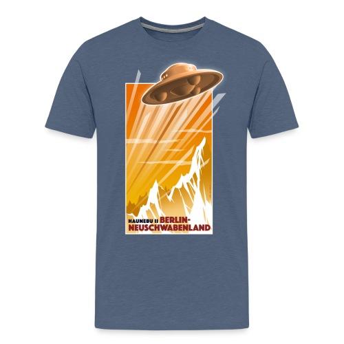 Haunebu II Orange Herren - Männer Premium T-Shirt